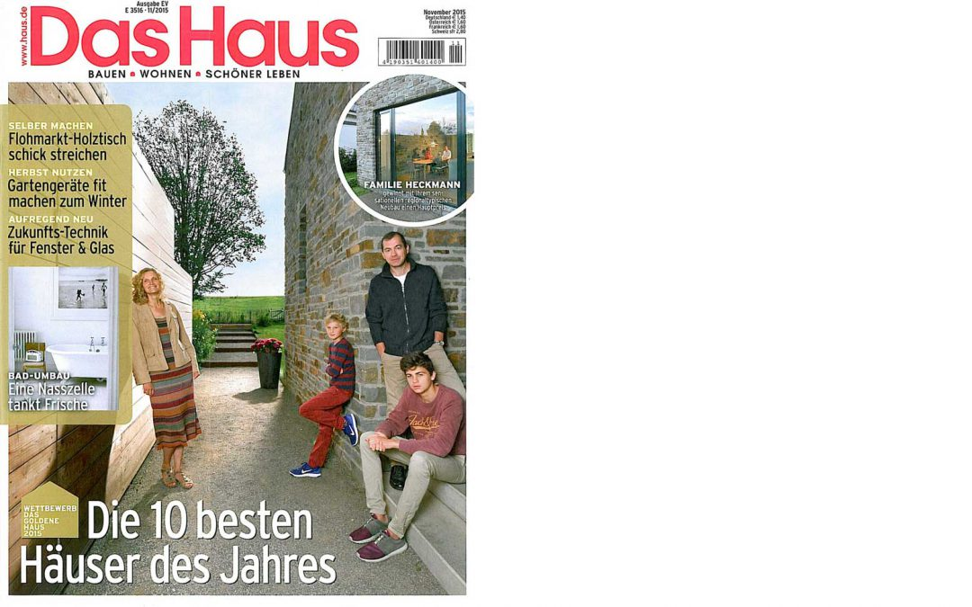 "2. Preis ""Das goldene Haus"""