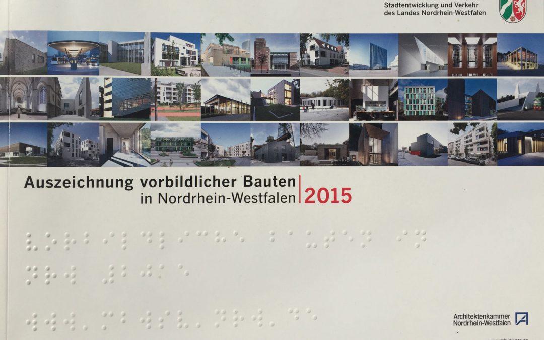 Auszeichnung vorbildlicher Bauten NRW 2015 für das Haus Heckmann